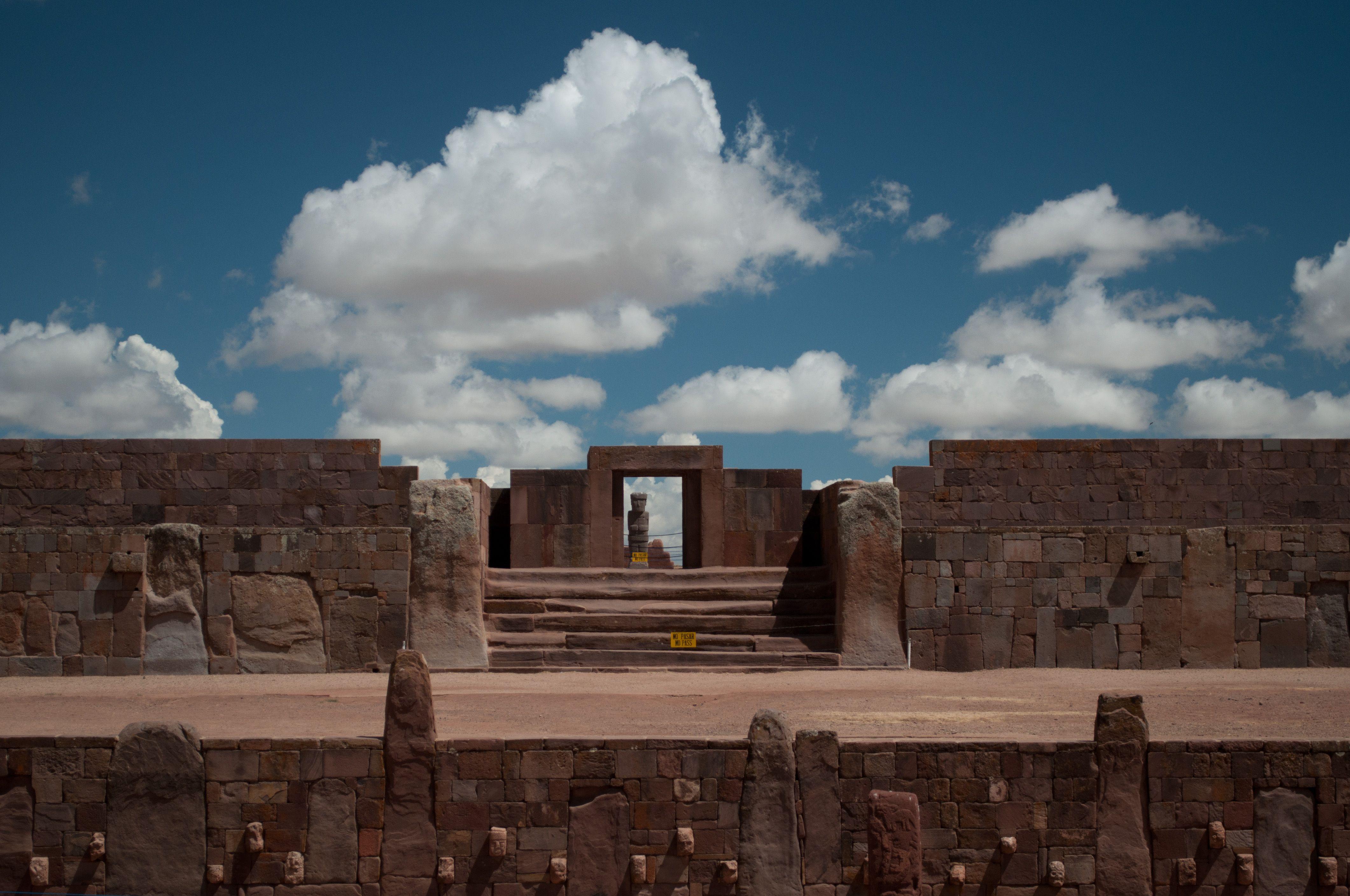 One of my vacation destinations. Tiahuanaco, Bolivia
