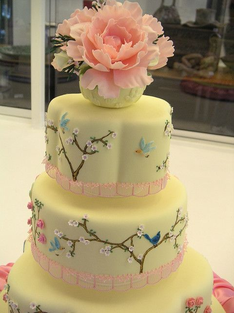 Sydney Easter Show 2007 - Closeup of competition cake | Sydney ...