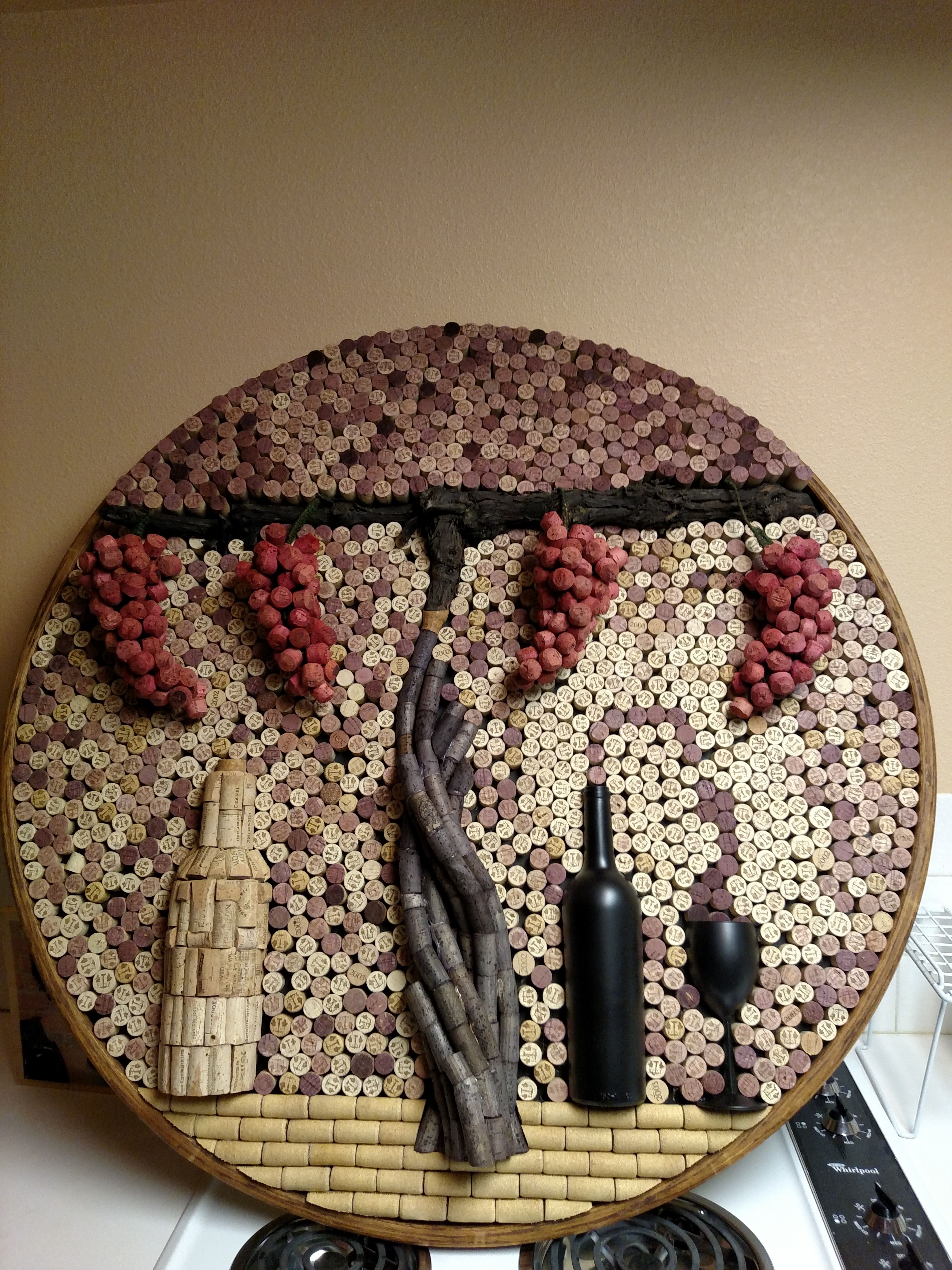 Finished Project Wine Cork Crafts