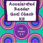 Accelerated Reader Goal Check Kit.  Help your students stay on track with independent reading! $