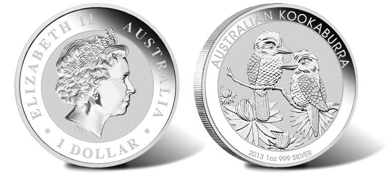2013 Silver Kookaburra Bullion Coins Available Now 1oz 1 Million Bullion Coins Silver Coins Coins