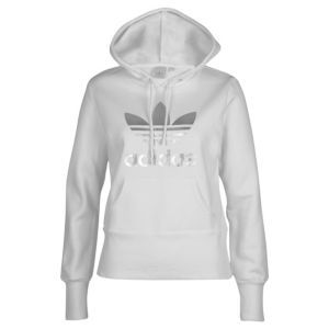 dbd896088d adidas Originals Trefoil Hoodie - Women's - Black/White | Sweat ...