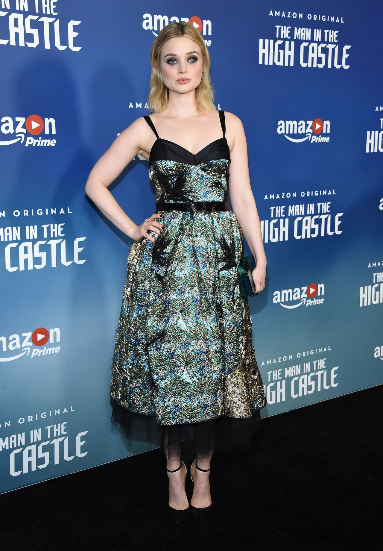 bella heathcote the man in the high castle season 2 premiere in los