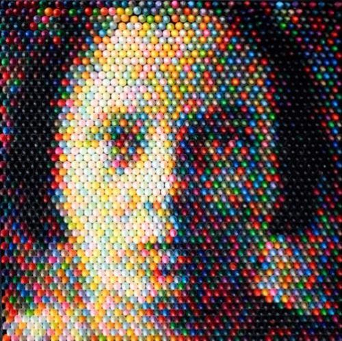 Visage Pixel Corps Pixel Unusual Art Crayon Art Pixel Art