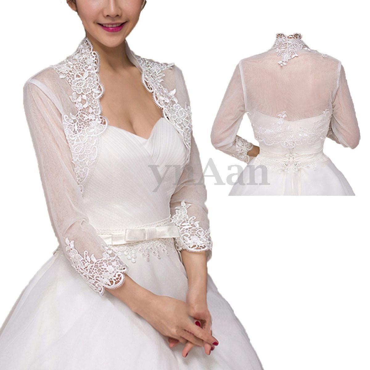Wedding dress wrap  Lace White Bridal Dress Shawl Wedding Jacket Tulle Jacket Cape Wrap