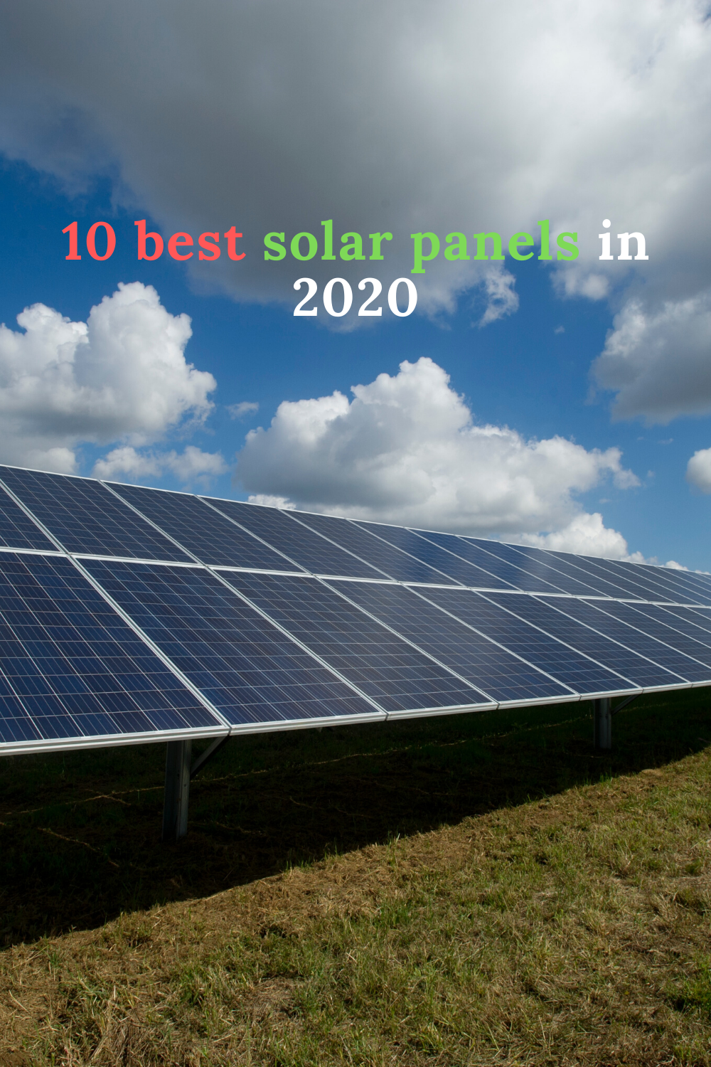 10 Best Solar Panels 2020 In 2020 Solar
