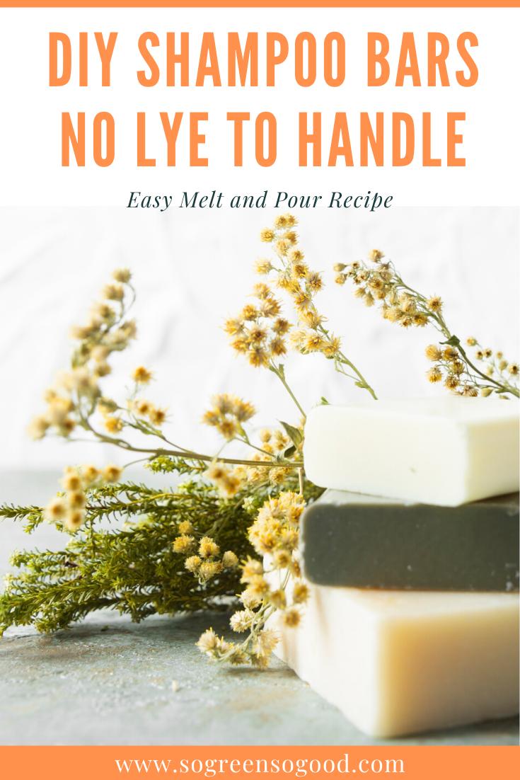 DIY Shampoo Bar - No Lye to Handle in 2020   Shampoo bar ...