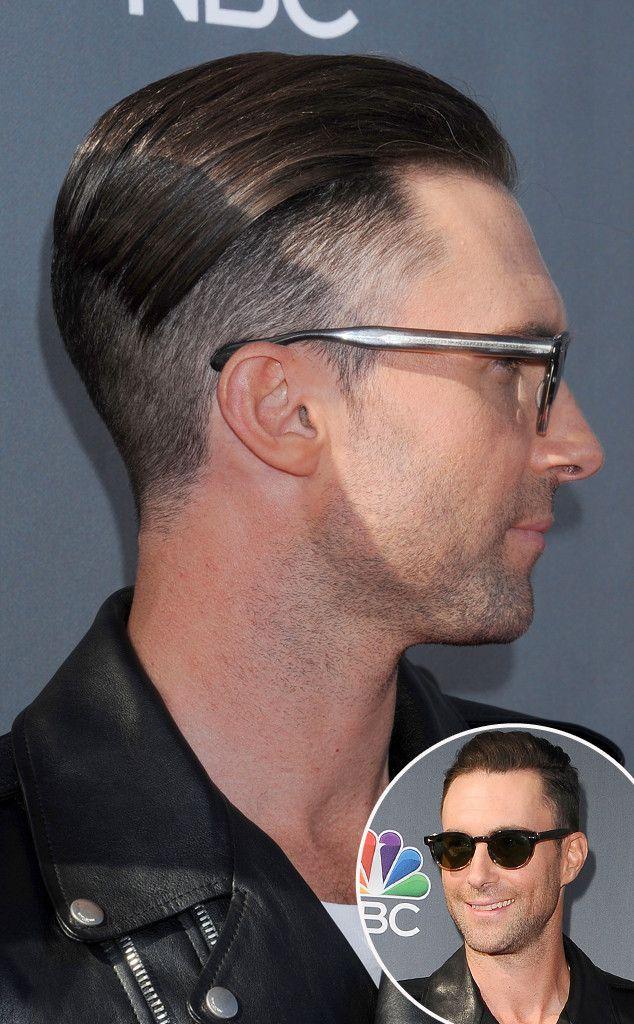 Adam Levine Shaves Half His Head Adam Levine Haircut Adam Levine Mens Hairstyles