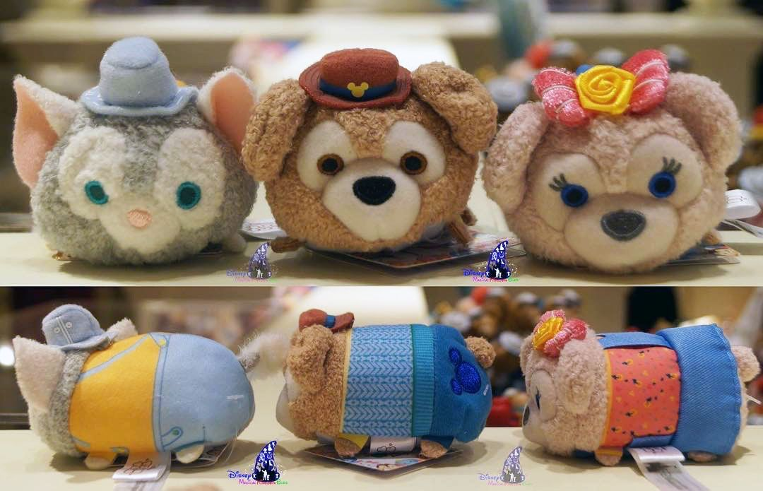 HK Exclusive Spring Fiesta 2017 Duffy Tsum Tsum Collection - Gelatoni, Duffy, and ShellieMay