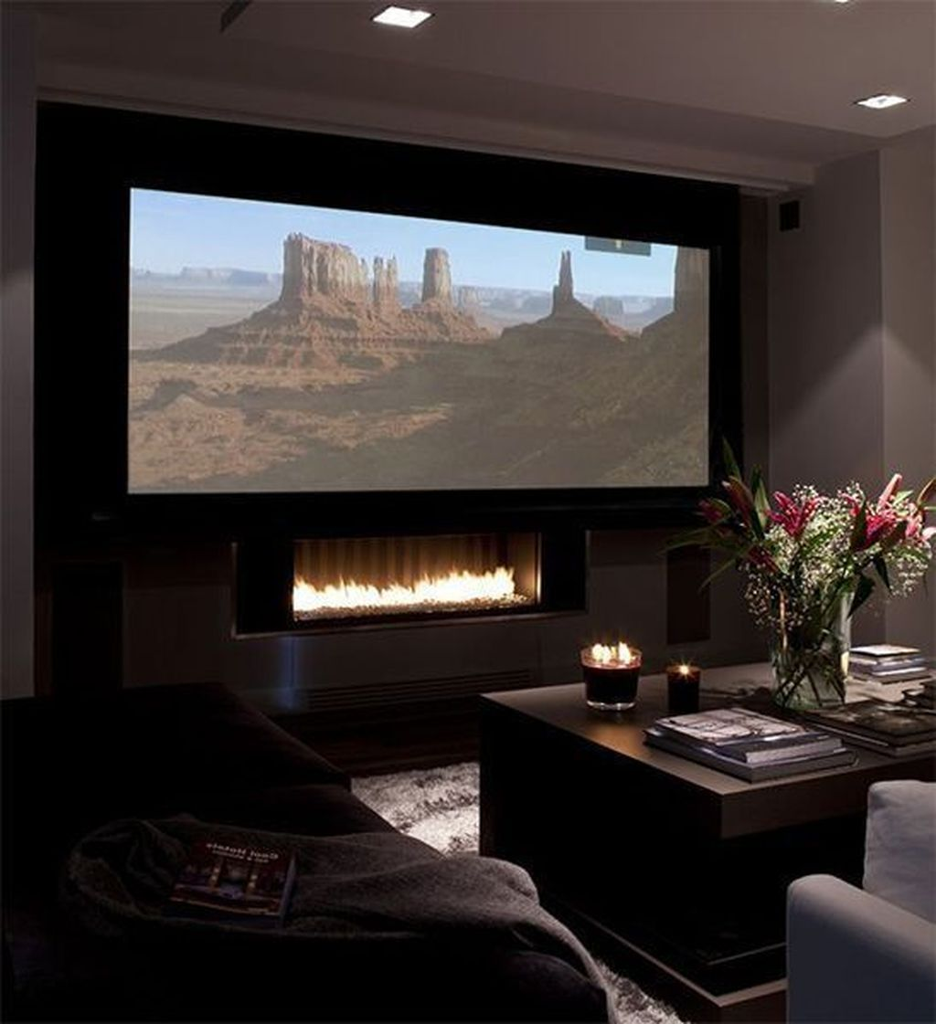 35 Gorgeous Theater Room Design Ideas