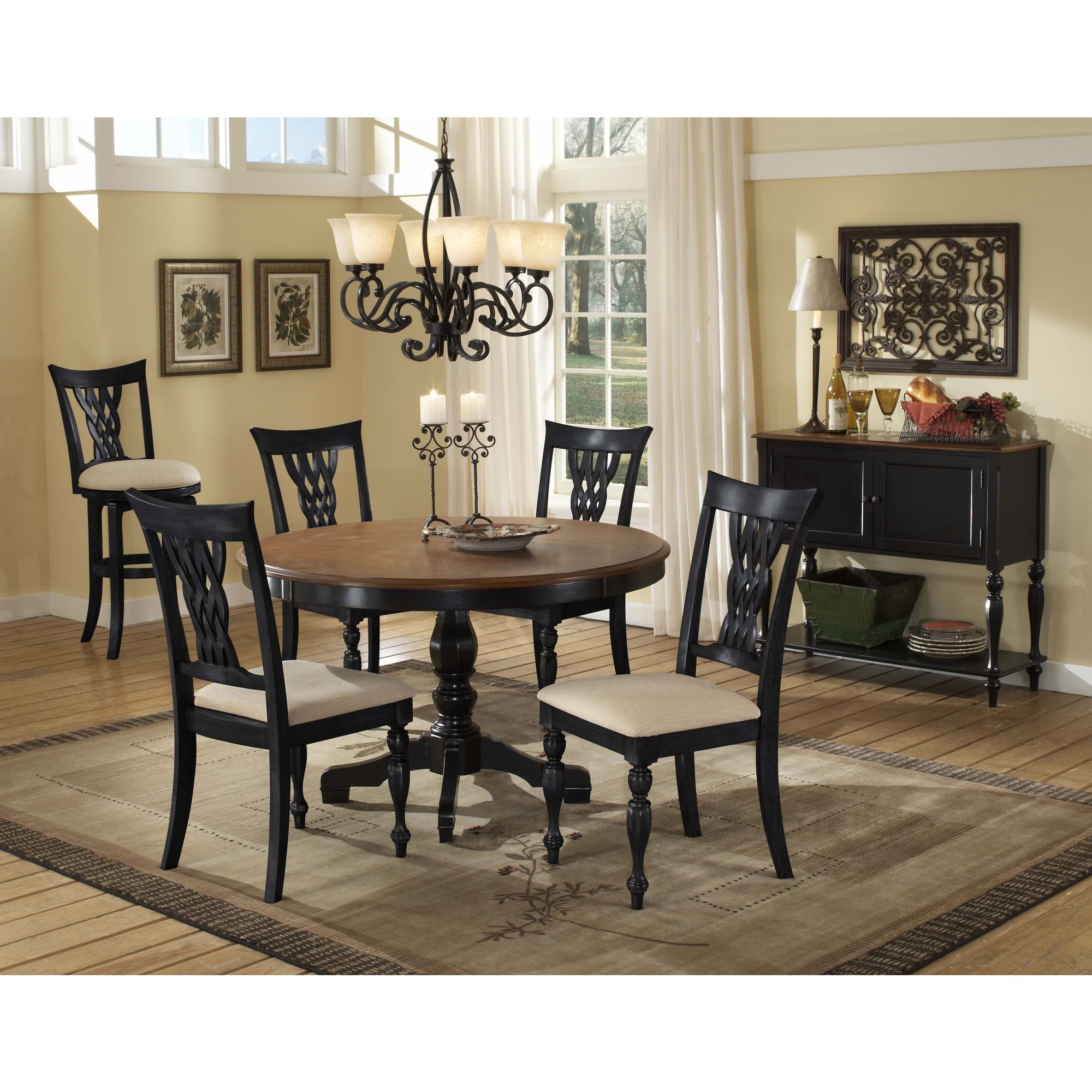 hillsdale embassy dining table  granite kitchen table