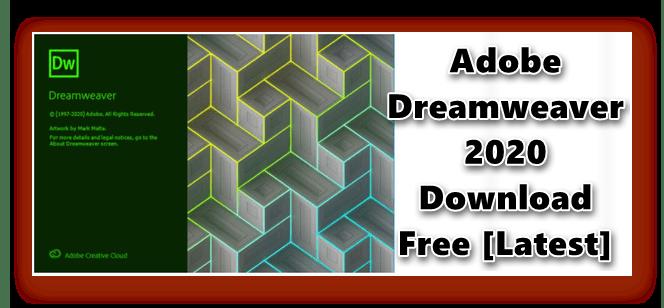 Adobe Dreamweaver 2020 V20 1 0 15211 X64 Download Free Latest In 2020 Adobe Dreamweaver Dreamweaver Web Design Software