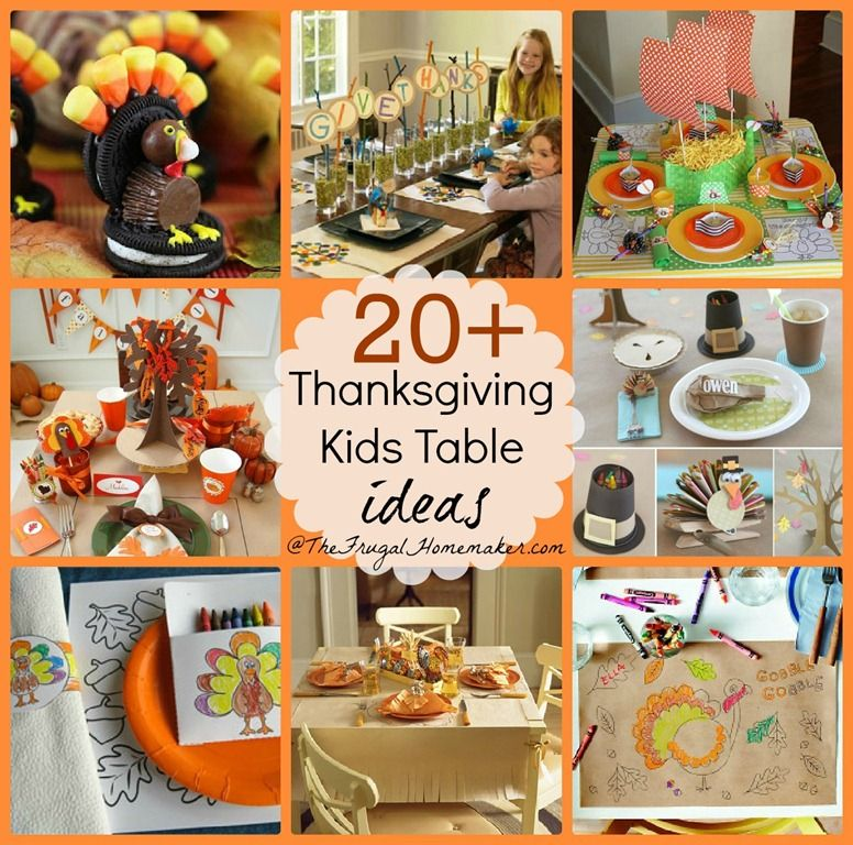20 Kids Thanksgiving Table Ideas Easy Lots Of Free Printables Make The Fun This Year For