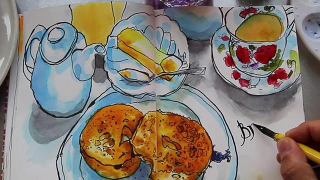 The Art Of Breakfast A Film About Danny Gregory By Dannygregory