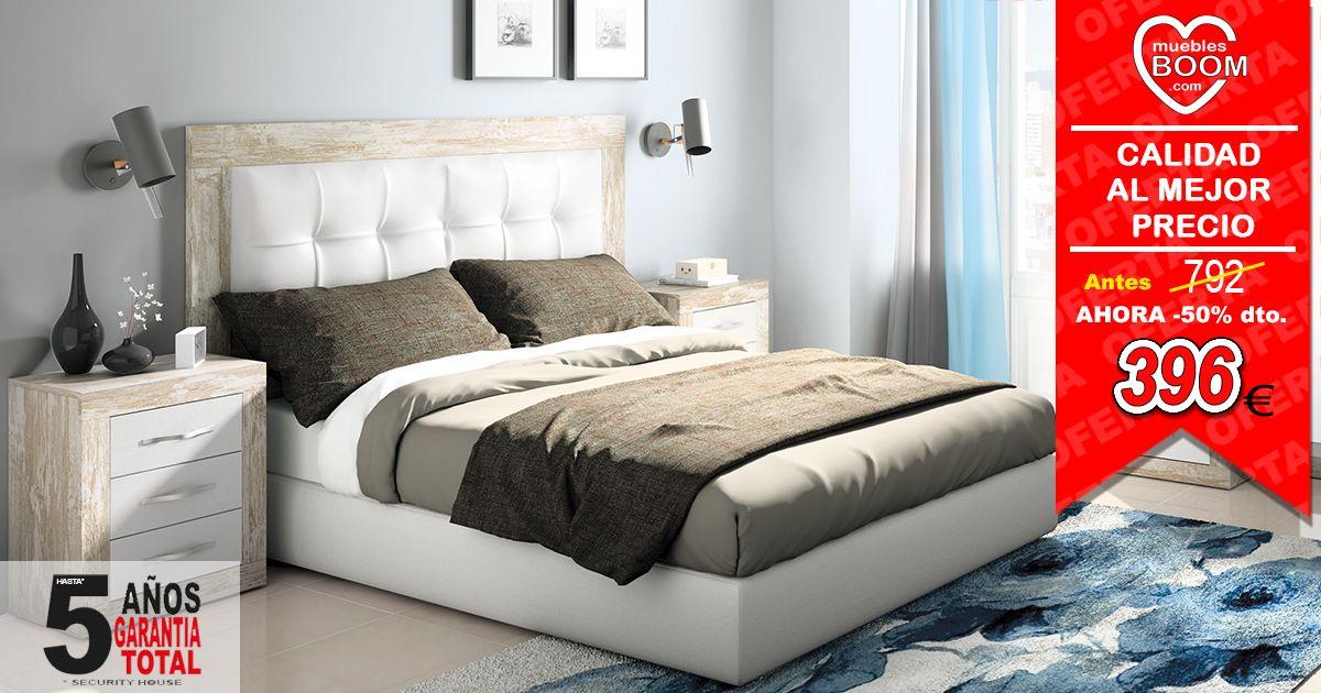 Cabecero tapizado + #mesitas. Elegancia y confort con la mejor ...
