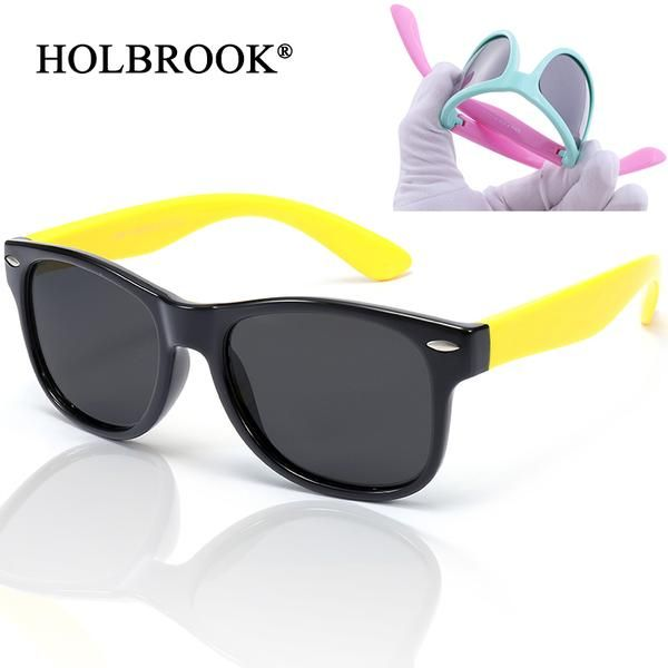 ef2cd28572  SUNGLASSES  NEW Silicone Children Polarized Sunglasses TR90 Baby Classic  Fashion Eyewear Kids Sun glasses boy girls UV400 Oculos 826