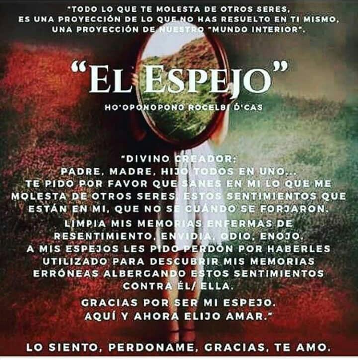 Pin De Araceliscruzsoto En Positivo Hoponopono Oracion Oponopono Frases Frases Espirituales
