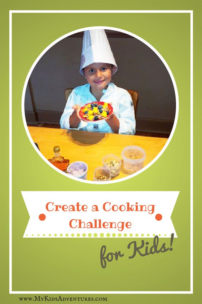 How to Create a Cooking Challenge for Kids