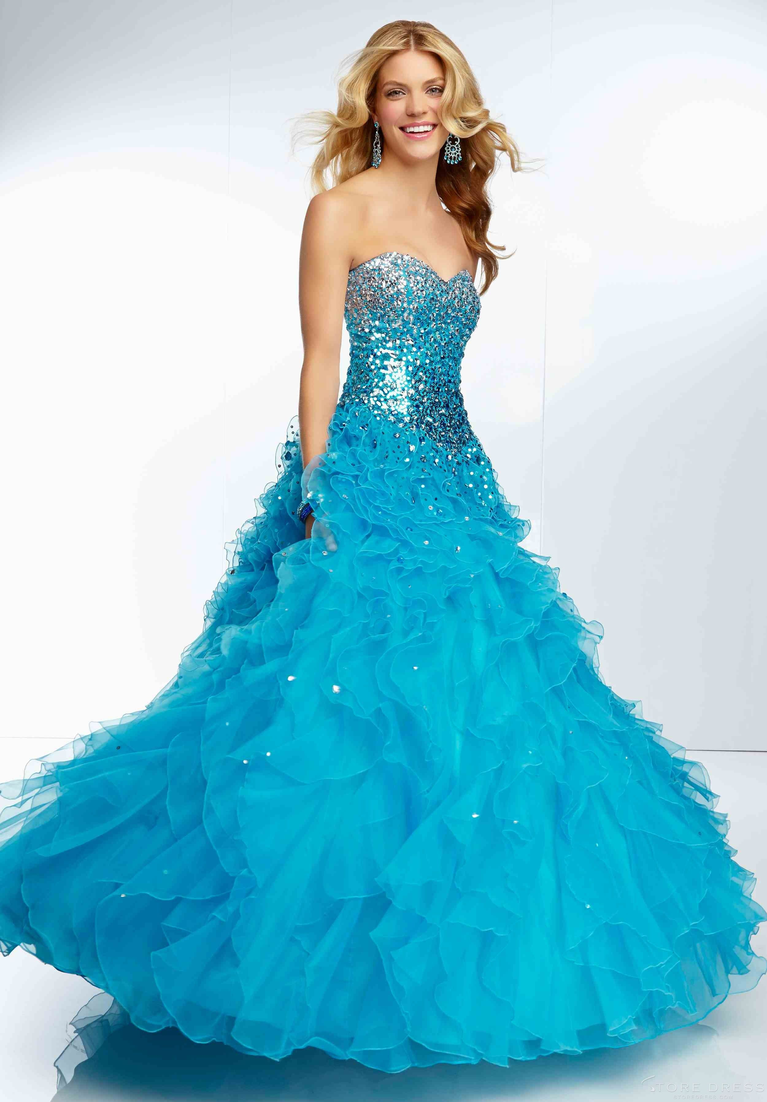 Top Fashion Ball Gown Sweetheart Floor-length 2014 New Style Ball Gown Dress at Promgirlshop.com