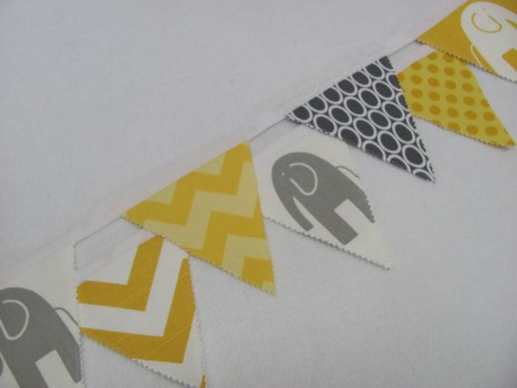 Fabric penant banner- can custom order $30.00