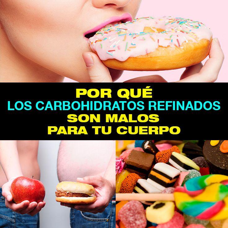 dieta sin carbohidratos refinados