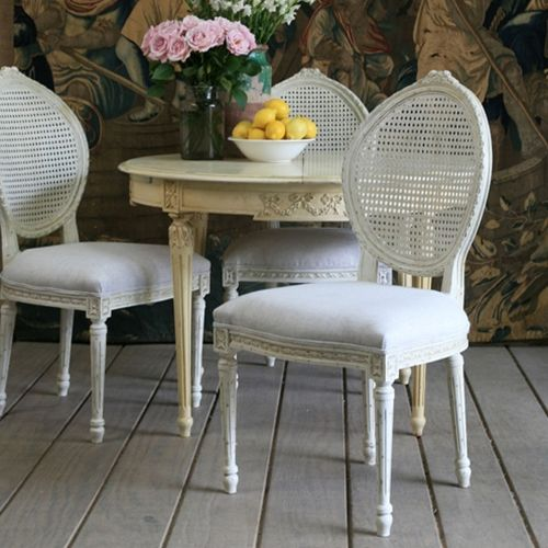Chintz Louis chair chaise salle à manger Pinterest