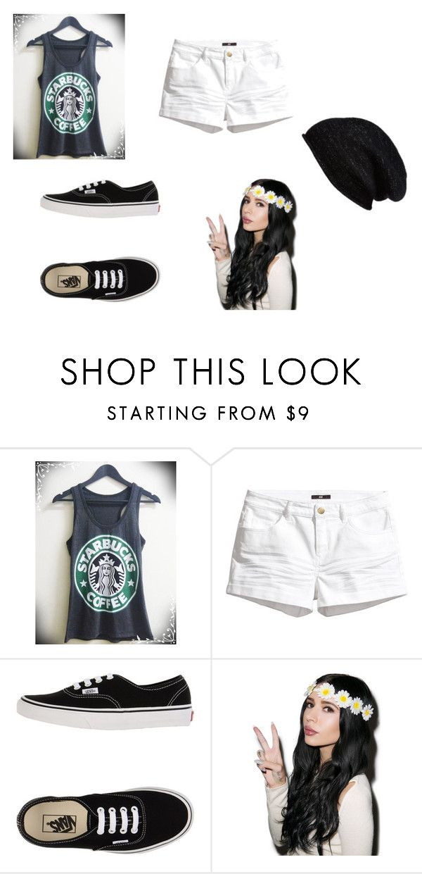 """Chapter 10 school outfit"" by jules7000 ❤ liked on Polyvore featuring H&M, Vans and Halogen"