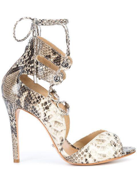 172ce43bd SCHUTZ Snake Skin Sandals. #schutz #shoes #sandals | Schutz | Snake ...