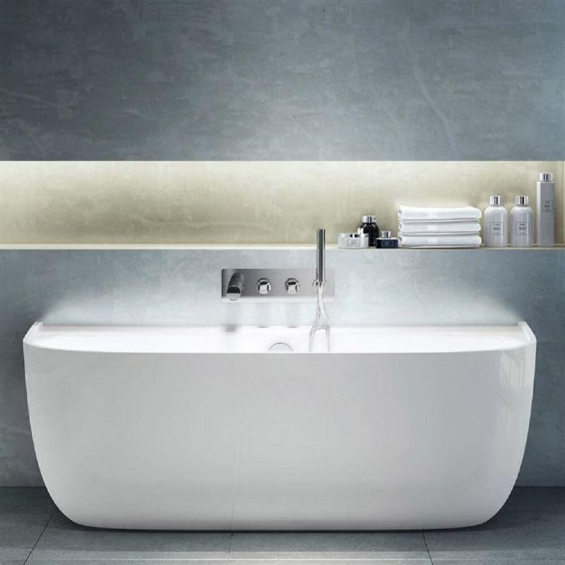 Victoria Albert Eldon Back To Wall Freestanding Bath Victoria
