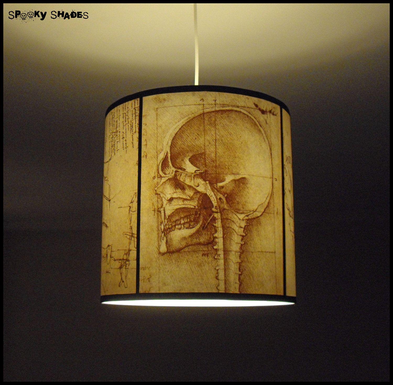 Da vincis creed skull pendant lamp shade lampshade skull lamp da vincis creed skull pendant lamp shade lampshade skull lamp human anatomy steampunk aloadofball Image collections