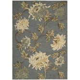 Found it at Wayfair - Sunburst Denim Wash Area Rug