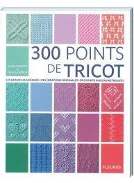 300 points de tricot, éditions Fleurus