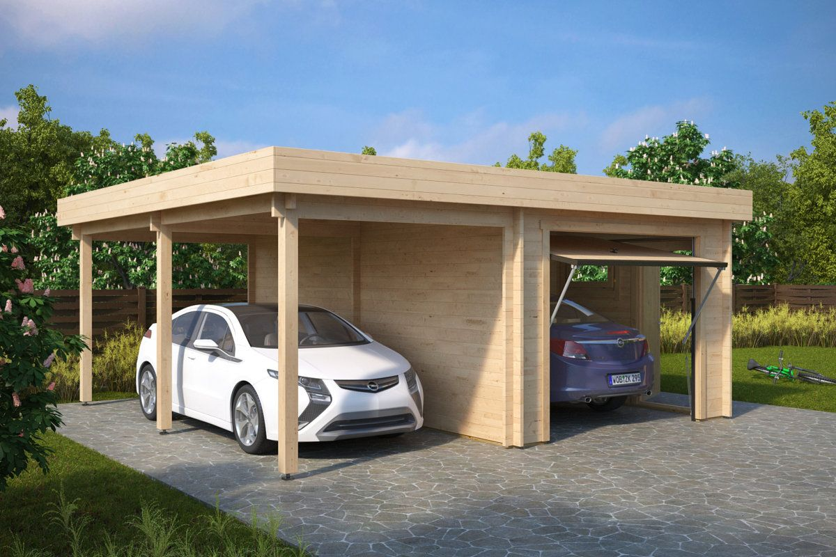 Carport Vor Garage Garage Mit Carport Top Carport Vor With Garage Mit
