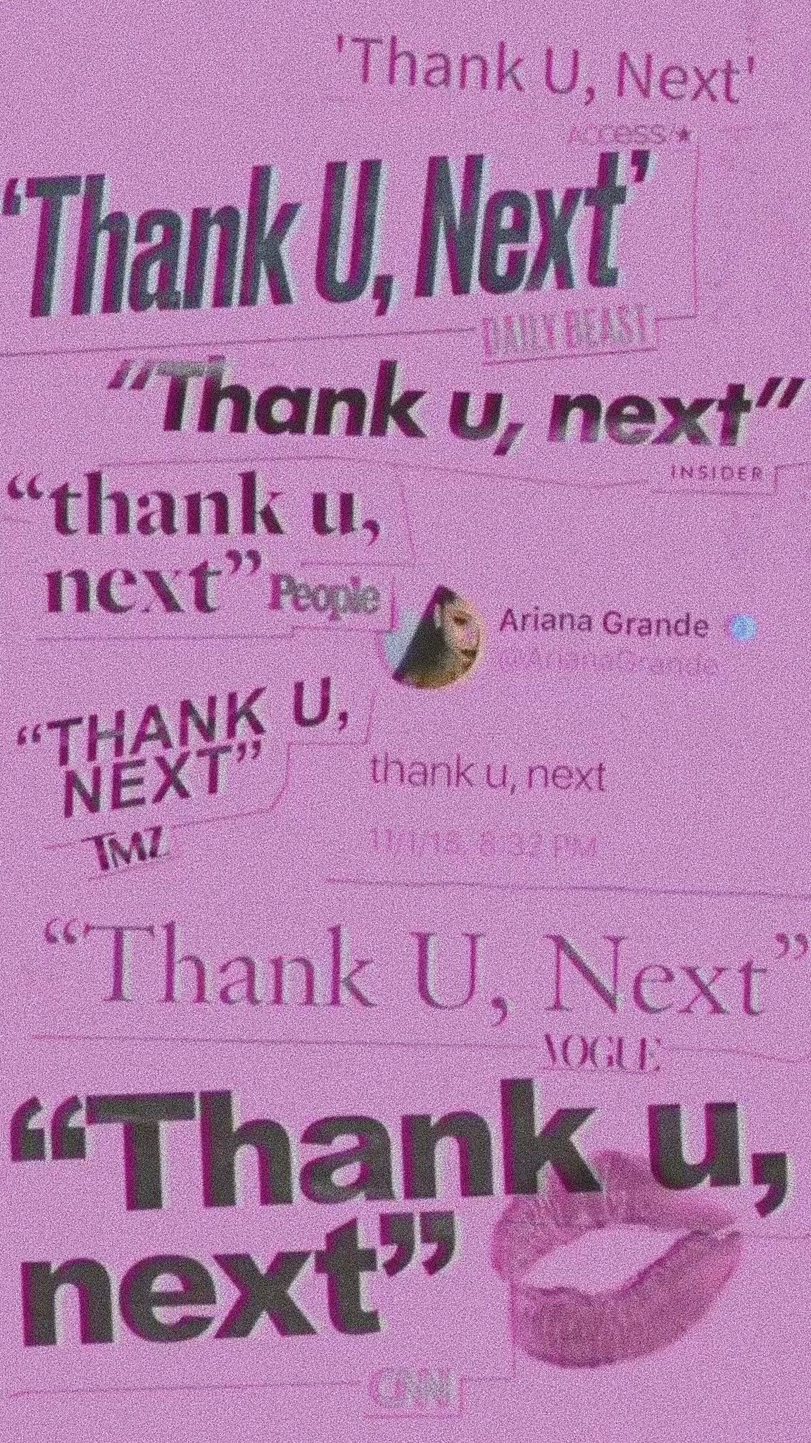Ariana Grande THANK U, NEXT wallpaper | ariana grande ️