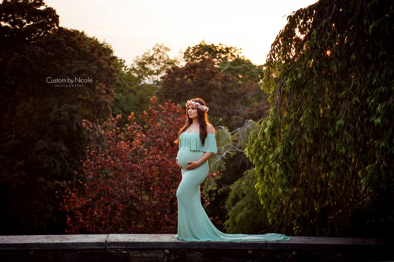 7adc599a4a Perla Maternity Gown