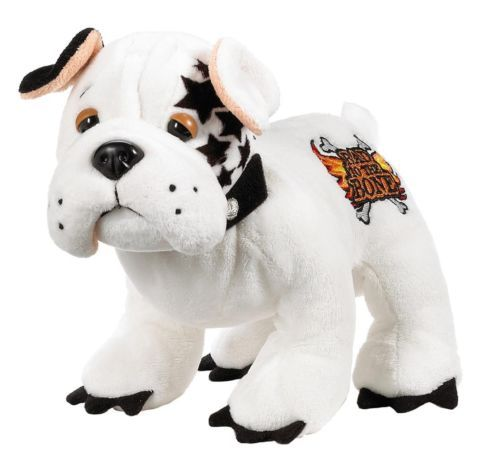 Bulldog Puppy Dog Ganz Webkinz Rockerz 8 5 Plush Stuffed Animal