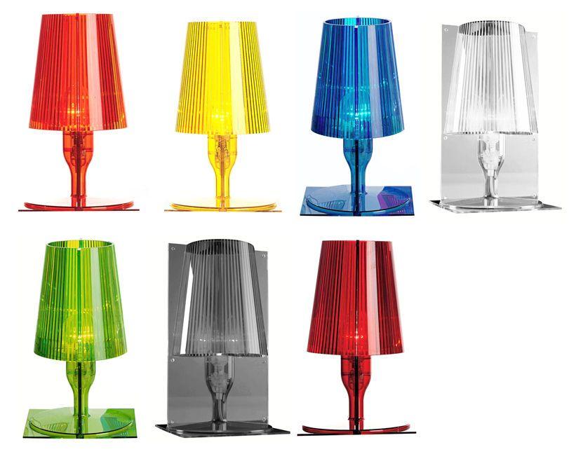 Kartell Take colorata lampada da tavolo o da comodino completa di ...