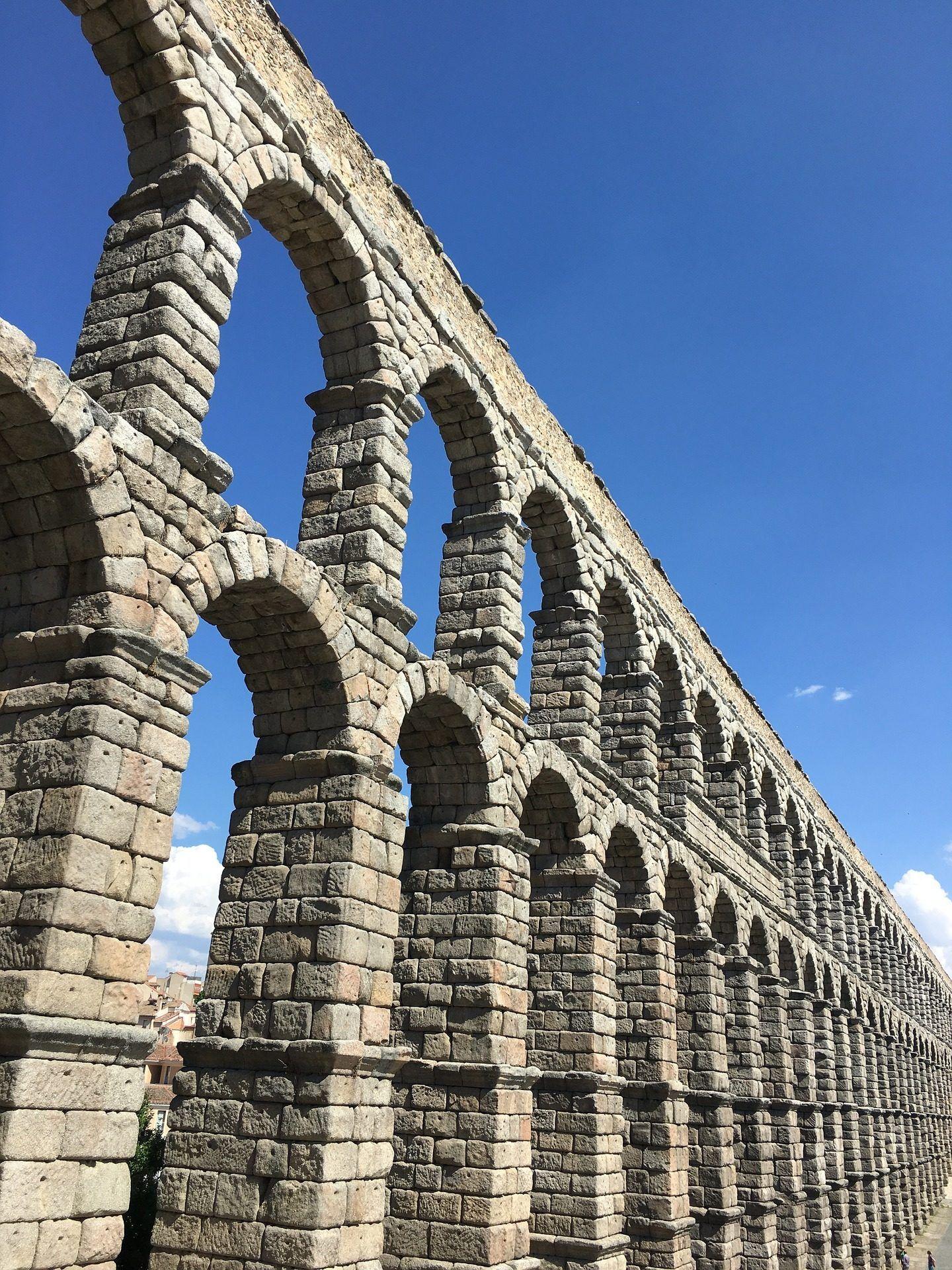 Monumento arquitectura acueducto romano segovia 1701100820 fondos de pantalla hd hd - Acueducto de segovia arquitectura ...