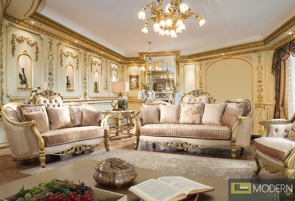 Best Jasmine Upholstery Living Room Set Victorian European 400 x 300