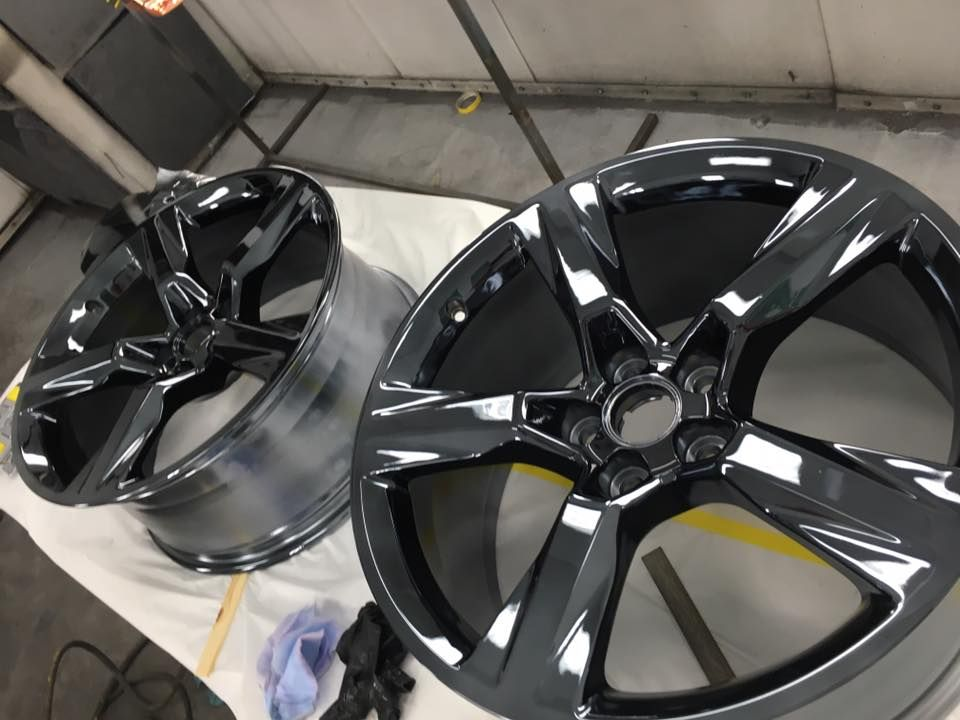 Camaro black chrome rims lasvegas chrome cars chrome
