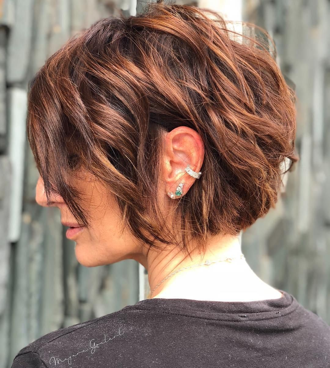 best short bob haircuts and hairstyles for women silver hair