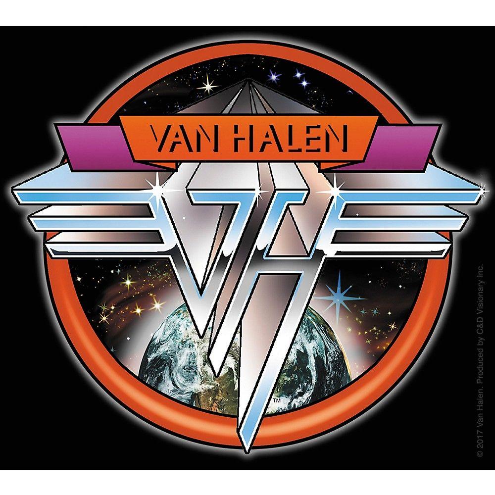 C&D Visionary Van Halen Space Sticker Rock band posters