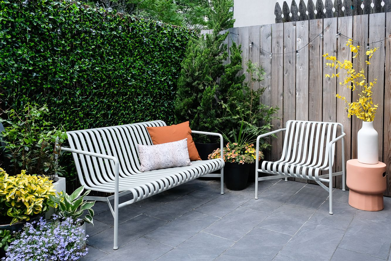 brooklyn brownstown patio   Patio makeover, Green wall, Patio on Green Wall Patio id=87776