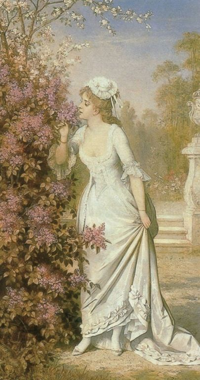 Carl Schweninger Snr. (austrian, 1818-1887)_First summer bloom