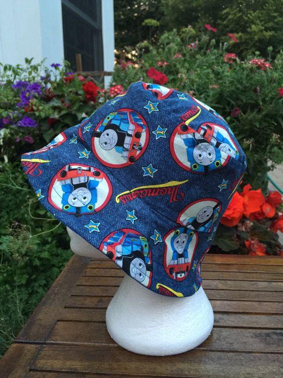 Thomas the Train Reversible Bucket Hat. Sun by AbicoyCreations ... 8e0d630584b