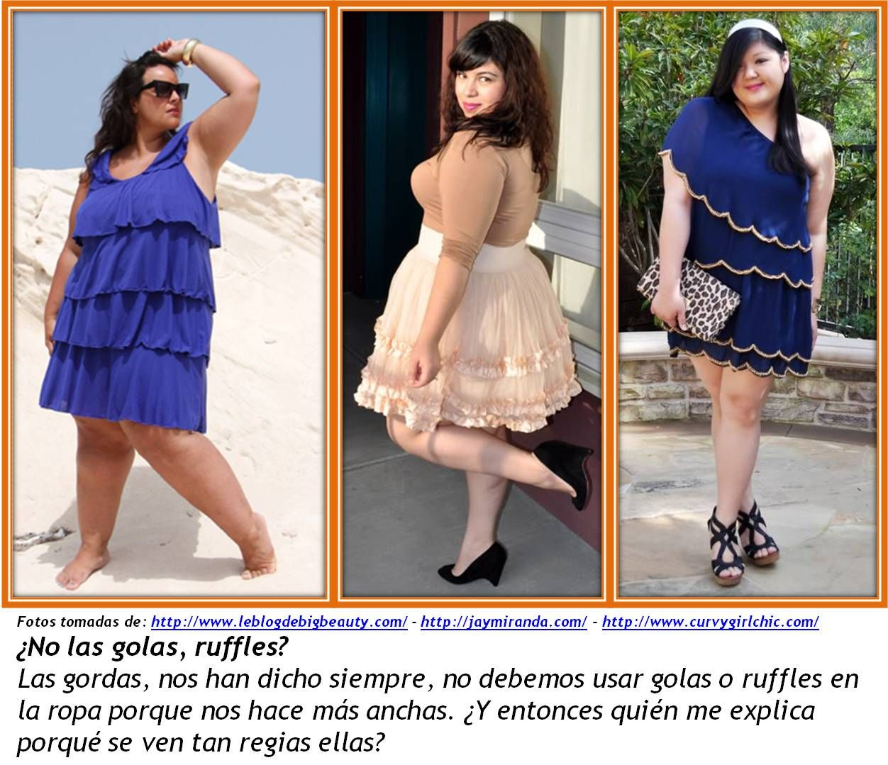 Abajo los mitos con la ropa de las gordas 3
