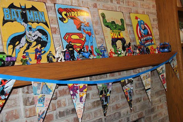 Sometimes Creative: Birthdays  Superhero Birthday Party