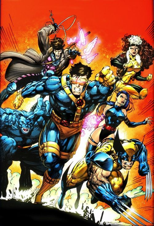 X Men Annual 1 Jim Lee Marvel Comics Art Jim Lee X Men