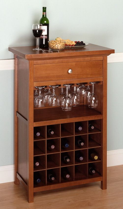 Opentip Com Winsome 94441 Wood Wine Cabinet With Drawer
