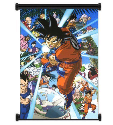 Anime Poster Dragon Ball Home Decor  Wall Scroll 60*80CM
